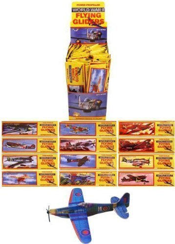 12 Flying Glider Planes Party Bag Fillers / Childrens Toys / Game Prizes