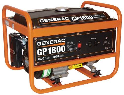 51L0ojND7QL. SL500  Generac 5981 GP1800 1,800 Watt 163cc OHV Portable Gas Powered Generator (CSA Approved)