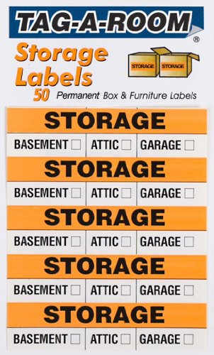 Storage Moving Box Labels Uboxes (50 Label Pack
