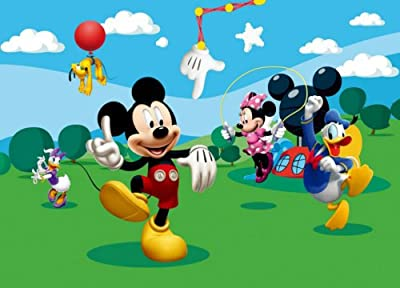 Mickey Mouse And Friends Photo Wallpaper Wall Mural by WallStickerWarehouse