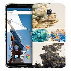 Theskinmantra Pattern 416 back cover for Motorola Google Nexus 6