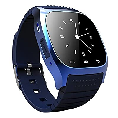 OPTA SW-010 Blue Bluetooth Smart Watch Phone Touch Screen Multilanguage Android/IOS Mobile Phone Wrist Watch Phone...
