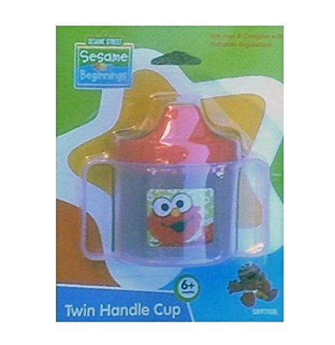 Elmo Sippy Cup with 2 Handles - BPA Free
