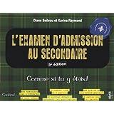 Examen d'admission au secondaire 3e édi