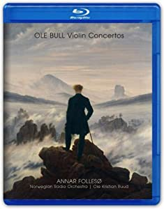 Violin Concertos - Annar Folleso Norwegian Radio Orch Blu-ray from 2L