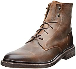 FRYE Men\'s James Lace Up Boot,Tan,8.5 M US