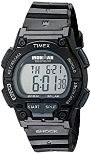 """Timex Men's T5K196 """"Ironman Classic"""" Watch with Black Band"""