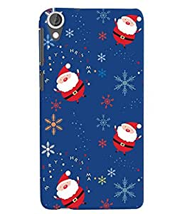 Citydreamz Santa Claus/Christmas/Gifts/Party/New Year Hard Polycarbonate Designer Back Case Cover For HTC Desire 728/HTC Desire 728G/HTC Desire 728 LTE/ HTC Desire Dual Sim