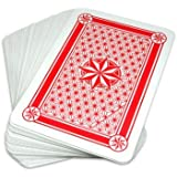 12 X 15 Inch Super Jumbo Plastic Coated Playing Cards