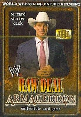Buy WWE Raw Deal Armageddon Str Deck (JBL)