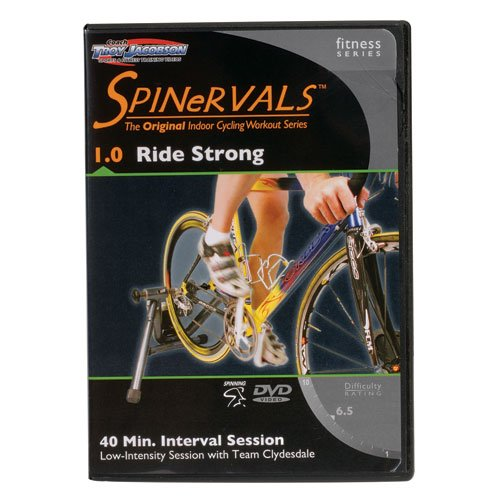 Spinervals 1.0 DVD - Ride Strong  Team Clydesdale 