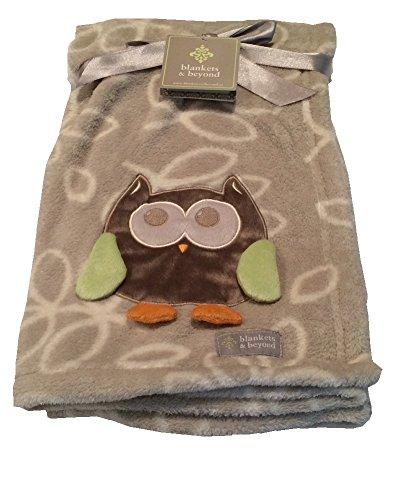 Blankets & Beyond Giraffe Elephant Monkey Blanket Pink Orange