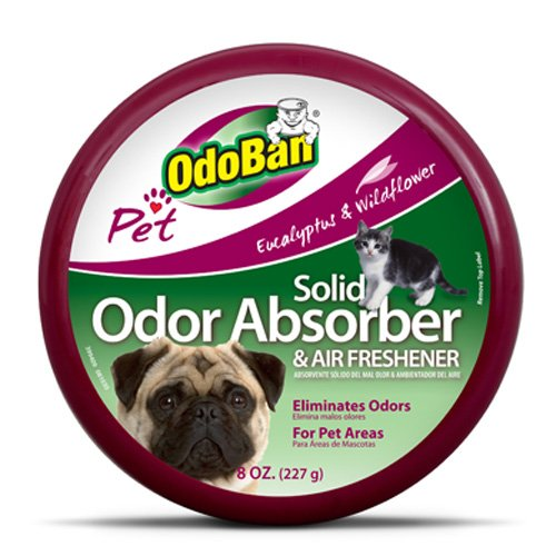OdoBan Pet Solid Odor Absorber & Air Freshener, 8 Ounce Picture