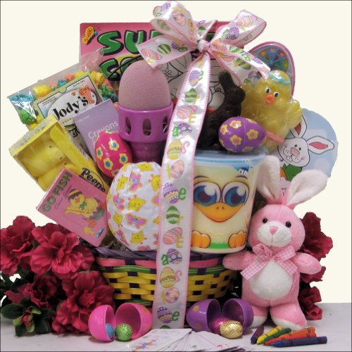 Hoppin' Easter Fun - Girl: Child's Easter Basket