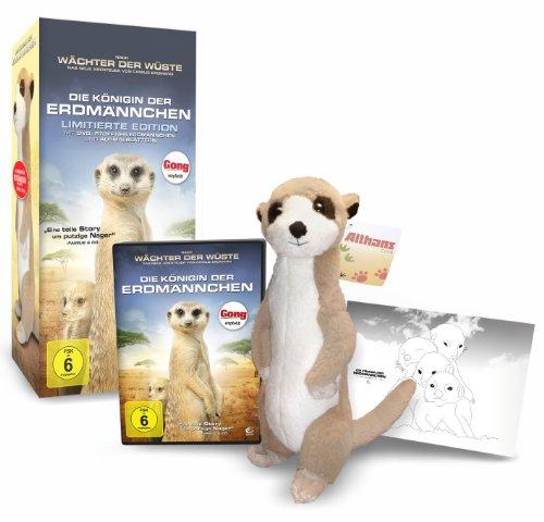 Die Königin der Erdmännchen - Collectors Edition (DVD, Stofftier und 4 Ausmalblätter)