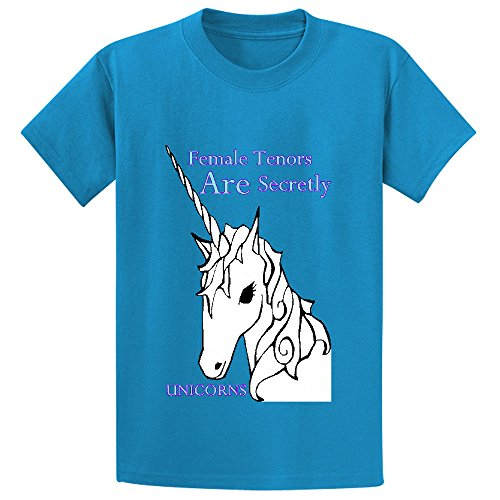 female-tenors-are-secretly-unicorns-boys-crew-neck-personalized-t-shirt-blue