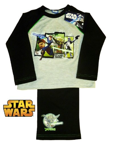 Star Wars Clone Wars Yoda Pyjamas 7-8 Years