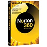 Norton 360 v5.0, 1 User, 3 PCs 1 Year Subscription (PC)by Norton from Symantec
