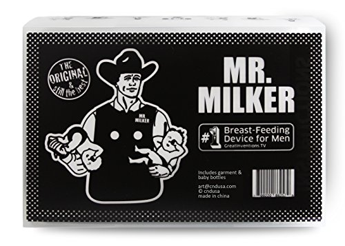 Mr Milker, Now Men Can Breastfeed - 1