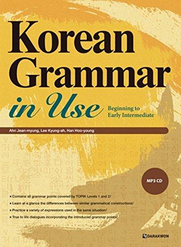 Korean Grammar in Use_Beginning (English ver.) [Ahn Jean-Myung - Lee Kyung-ah - Han Hoo-youn] (Tapa Blanda)