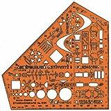 Standardgraph Zeichenschablone Stano Elektro 155x155