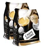 Carte Noire Senseo Classic 100% Arabica Roast Coffee (72 Pods)