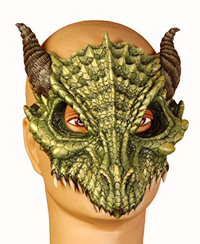 Dragon Mask Mardi Gras Mask 63404