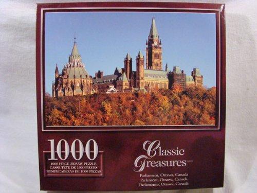 Classic Treasures 1000 Piece Jigsaw Puzzle: Parliament, Ottawa, Canada