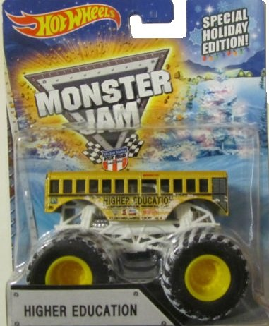 2015 Hot Wheels Monster Jam Special Holiday Edition Higher Education. Exclusive (Backwards Bob Monster Truck compare prices)