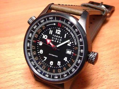 テッラ チエロ マーレ TERRA CIELO MARE 腕時計 ORIENTEERINGPVD オリエンテーリングPVD Ref.TC7008PVD3PA 自動巻き式 テッラチエロマーレ