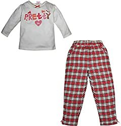 FS Mini Klub Girls' Night suit 3-4 Years (84605T-OFF WHITE3-4Y_4)