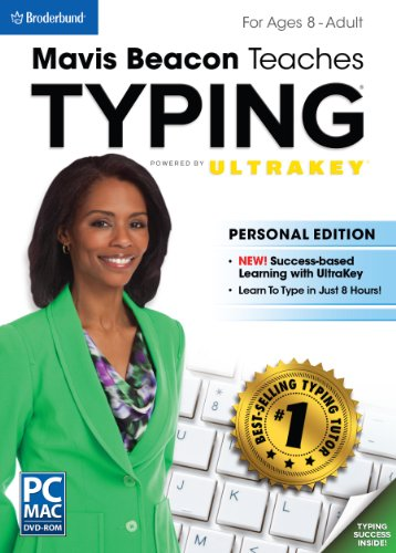 Mavis Beacon Teaches Typing Powered by UltraKey - Personal Edition (Windows Program For Mac compare prices)