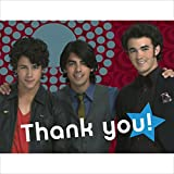 Jonas Brothers Thank You Notes w/ Envelopes (8ct)