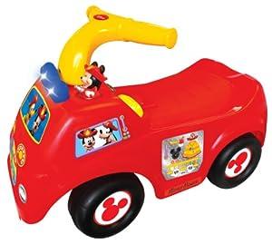 Disney Drive Along Fire Engine Ride On by Kiddieland