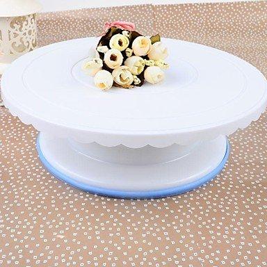 Plastic Cake Turntable28.5×28.5×9.5cm