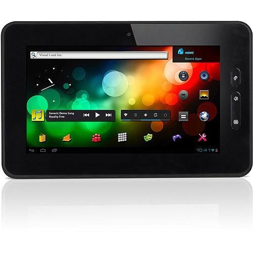 Visual Land Connect Android 2.3 Internet Tablet 7 Inch Capacitive Multi-Touch/8GB/ARM Cortex A8 1.2GHz/512MB DDR3 RAM/HDMI (Black)