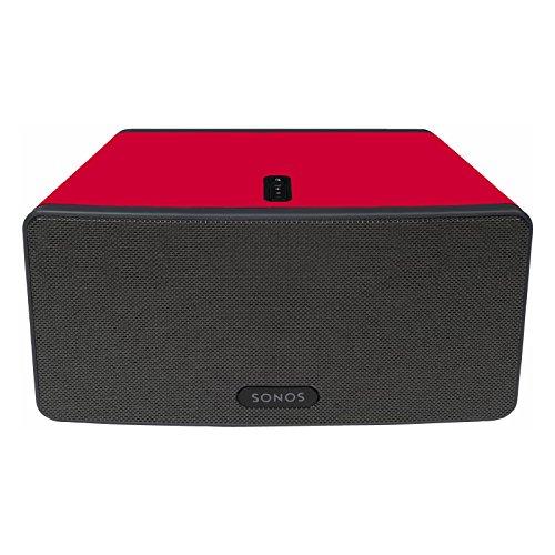 colour-skin-for-sonos-play3-speaker-by-booizzi-red-matt