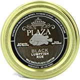 Plaza Premium Amazon Quality Lumpfish Caviar, Black, 3.52 Ounce