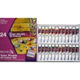 Reeves Water Mixable Oil Paints 12ml ~24 Tubes