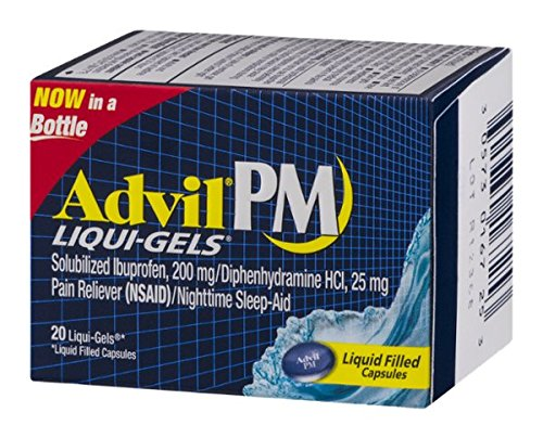 Advil PM Liqui-Gels Capsules - 20 CT