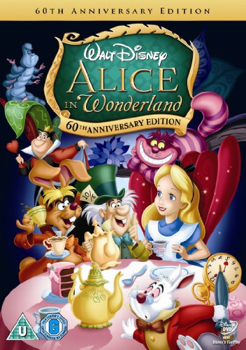 Alice In Wonderland (60th Anniversary Edition) [DVD]