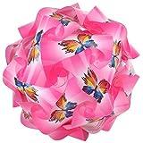 Ravi Creations Plastic Diwali Lamp - RC-2, Pink, 18 Cm X 18 Cm X 18 Cm