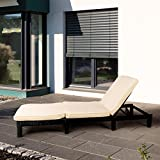 Polyrattan-Sonnenliege-Gartenliege-Gartenmbel-Rattanmbel-mit-Auflage-195-x-65-x-217-cm-Schwarz