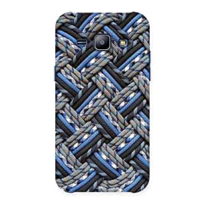 Enticing Pattern Knot Back Case Cover for Galaxy J1