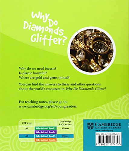 CYR5: Why Do Diamonds Glitter? Level 5 Factbook (Cambridge Young Readers)