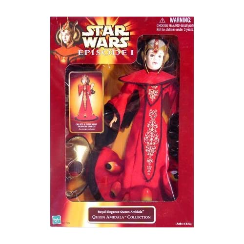 Star Wars Episode I Royal Elegance Queen Amidala Collection Fashion Doll by Hasbro