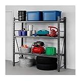 Heavy Duty Storage Shelves Durable ideal for Home Garage Utility Workshop Stockroom Steel
