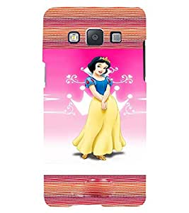 Fuson 3D Printed Girly Designer back case cover for Samsung Galaxy E5 - D4131