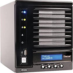 THECUS N4100EVO 4 Bay DLNA SATA RAID NAS System - Diskless