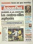 AUJOURD'HUI EN FRANCE [No 1141] du 13...